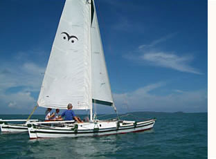 sailing charter on Hitia 24