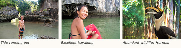 Koh hong west phang nga bay phuket for sailing kayaking