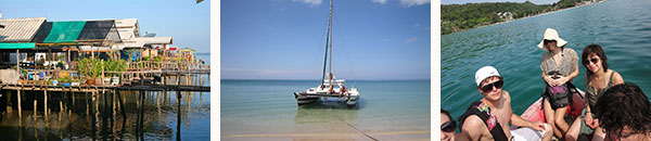sailing Thailand and visit Koh Lanta by catamaran