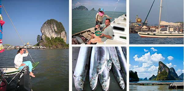 Take you bareboat catamaran to this destination and enjoy the Thai food.
