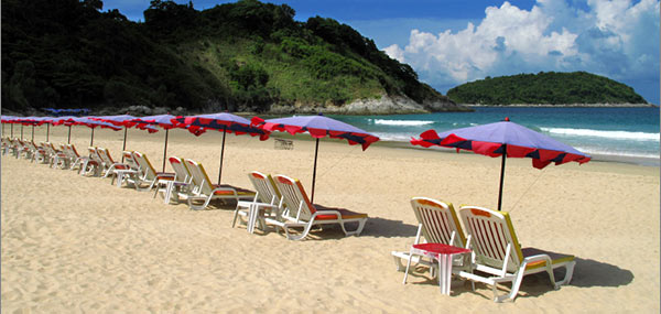 Visit West Coast of Phuket with a chartered catamaran