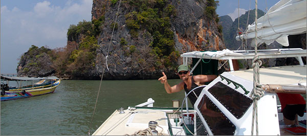yacht charter Phuket with destination James Bond Island